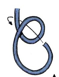 nudo de plana bulin simple