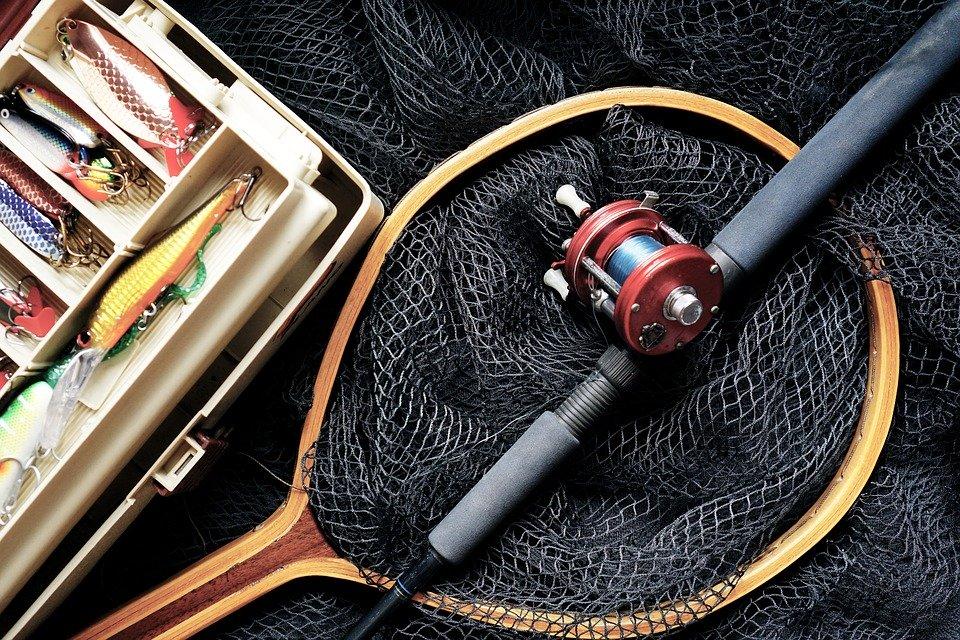 Pesca, Caña De Pescar, Señuelos De Pesca, Caja De Pesca