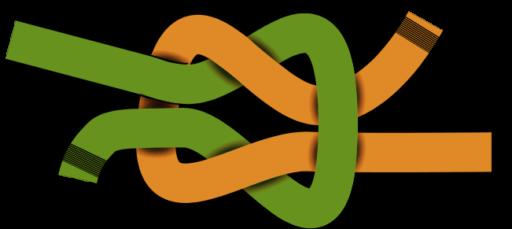 nudo doble cuerda